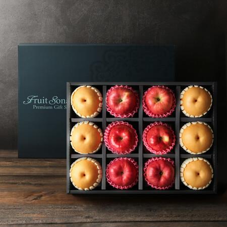 [한정 100개]사과, 배 혼합 선물세트 6kg_끝장특가
