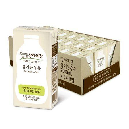 상하목장 멸균우유 백색200ml 48팩_마켓핫딜