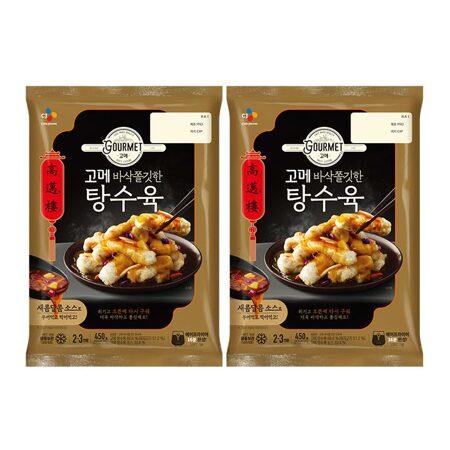 고메 바삭쫄깃한 탕수육 450gX2개