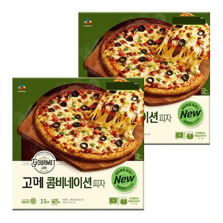고메 클래식 콤비네이션 피자 405gX2개