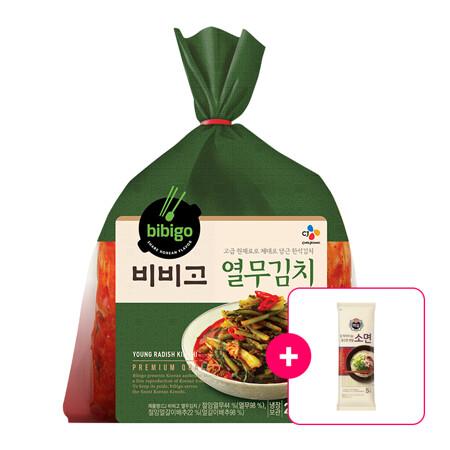비비고 열무김치2.3kg + [사은품]백설 소면 500g