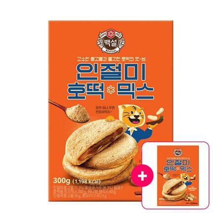 백설 인절미 호떡믹스 300g + [사은품]인절미 호떡믹스 300g