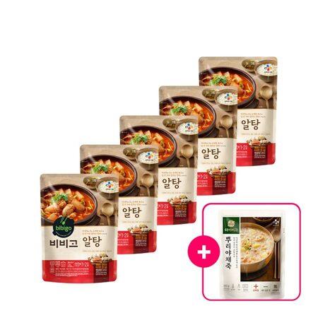 비비고 알탕 440gX5개+[사은품]더비비고 뿌리야채죽