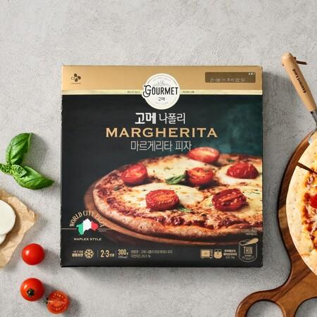 고메 나폴리 마르게리타 피자 300g