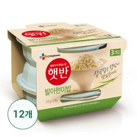 햇반발아현미밥210gx36개 (1box)