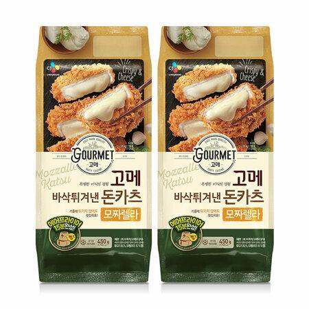고메 바삭튀겨낸 모짜렐라돈카츠450gX2개