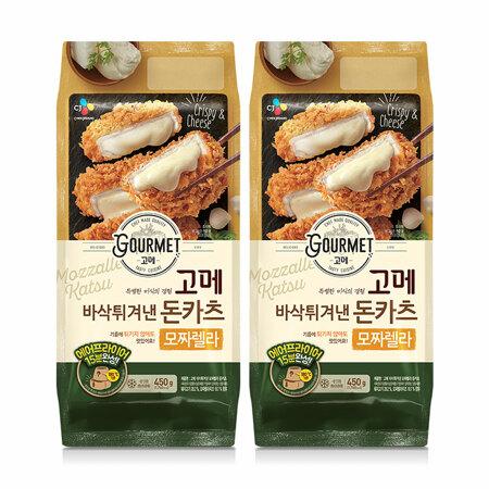 고메 바삭튀겨낸모짜렐라돈카츠450gX2개
