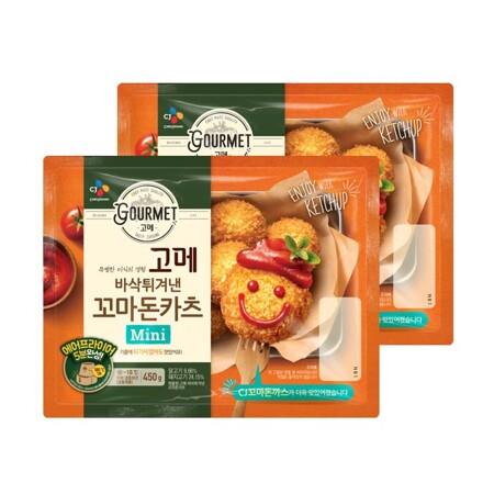 고메 바삭튀겨낸 꼬마돈카츠450gX2개