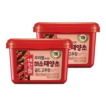 [1+1]우리쌀로만든태양초매운고추장500g