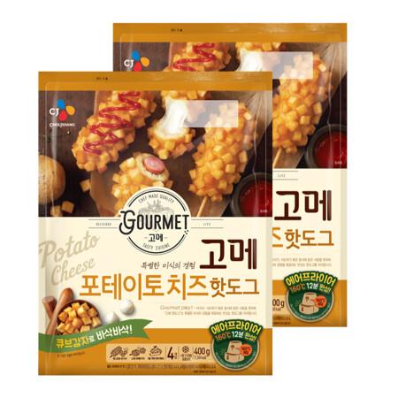 고메 포테이토치즈 핫도그400gX2개
