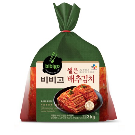 비비고 썰은배추김치3kg