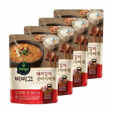 비비고 돼지김치콩비지찌개 500gx4개