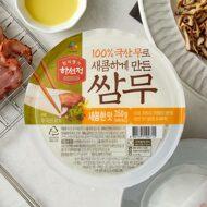 하선정 쌈무(새콤한맛) 350g