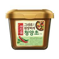 그대로 끓여먹는 된장찌개전용(청양초) 450g